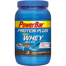 PowerBar ProteinPlus Whey Isolate 100% Tub 570g Chocolate Deluxe